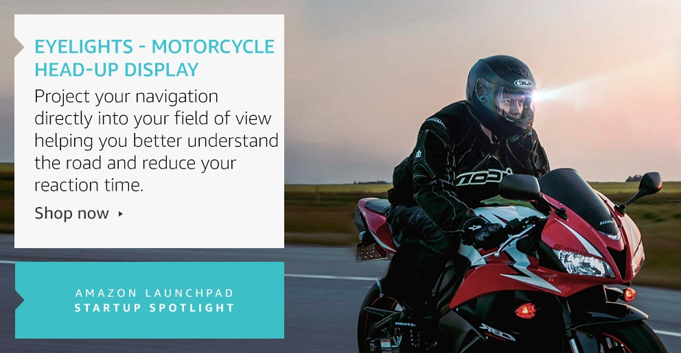 EyeLights - Motorcycle Head-Up Display
