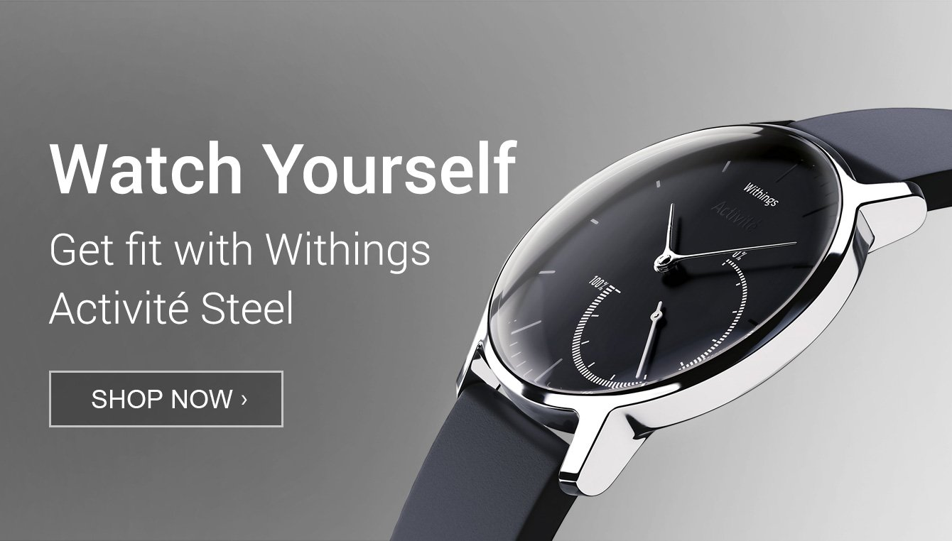 Amazon Launchpad: Withings Activite steel