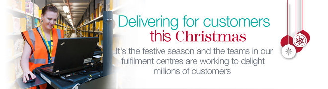 Delivering for customers this Christmas