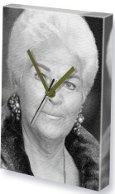 Pam St. Clement Canvas Clock