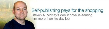 Self-publishing pays for the shopping