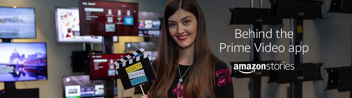 Behind the Prime Video app