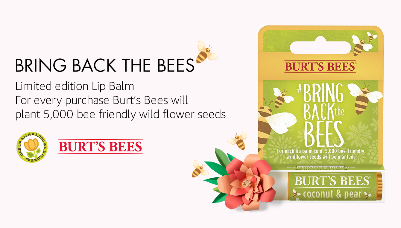 Burt's Bees Bring Back The Bees Lip Balm
