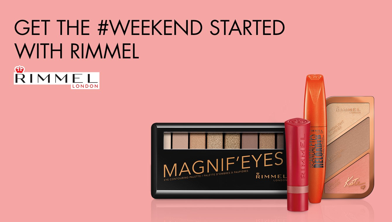 Get the weekend started with Rimmel