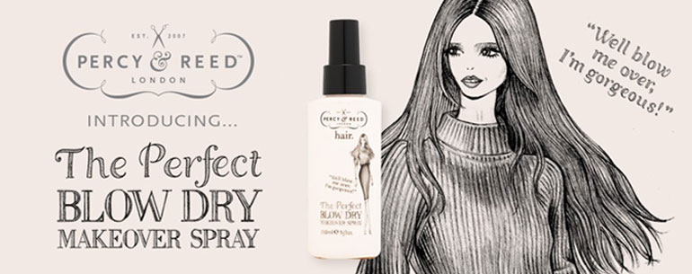 Percy & Reed The Perfect Blow Dry Makeover Spray