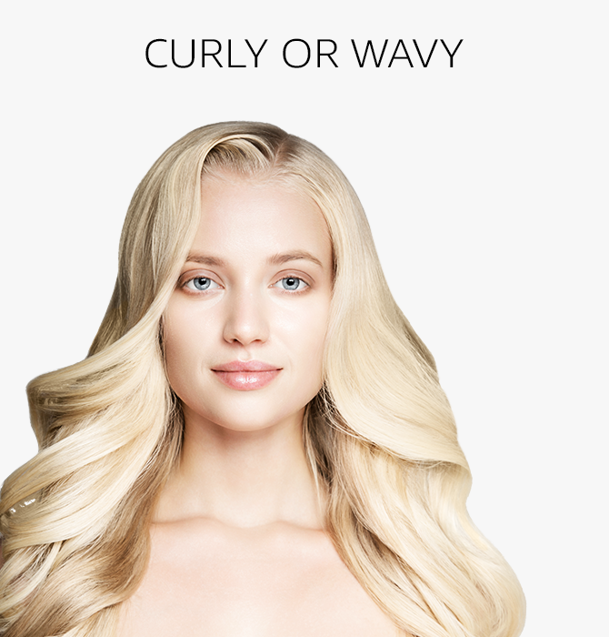 Curly or Wavy