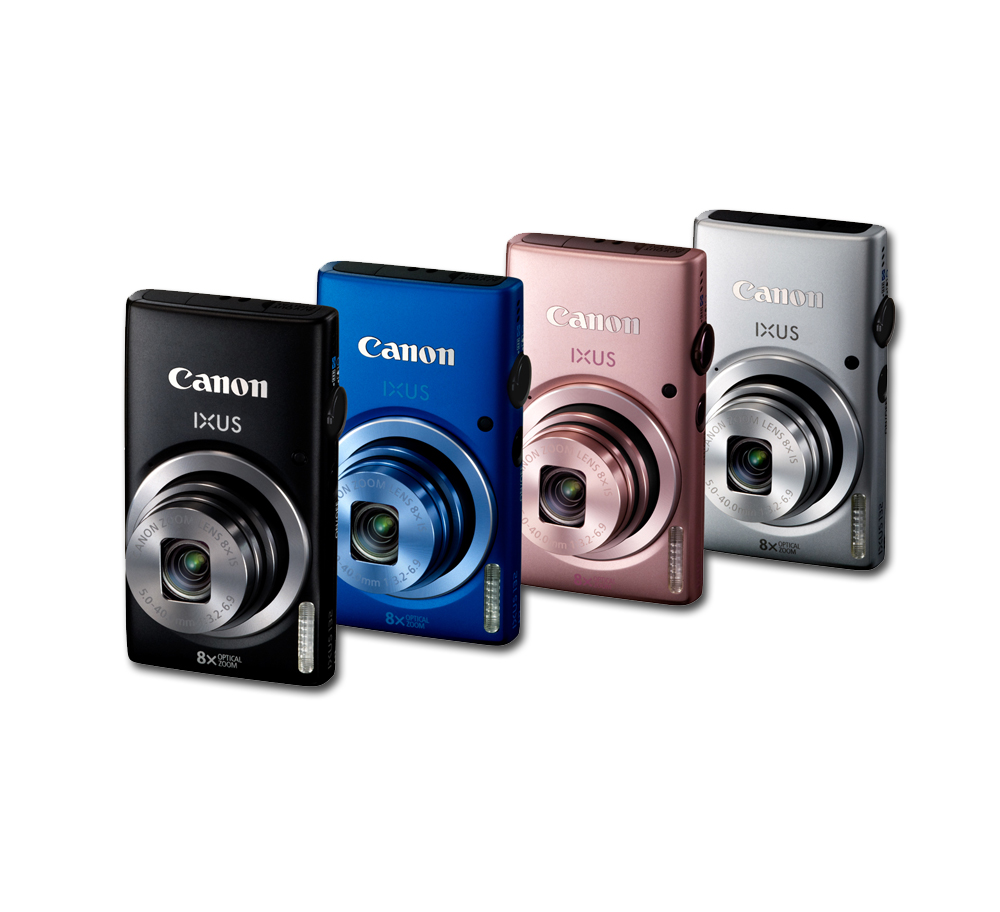 canon ixus 132 digital camera black 2 7 inch lcd camera photo. Black Bedroom Furniture Sets. Home Design Ideas