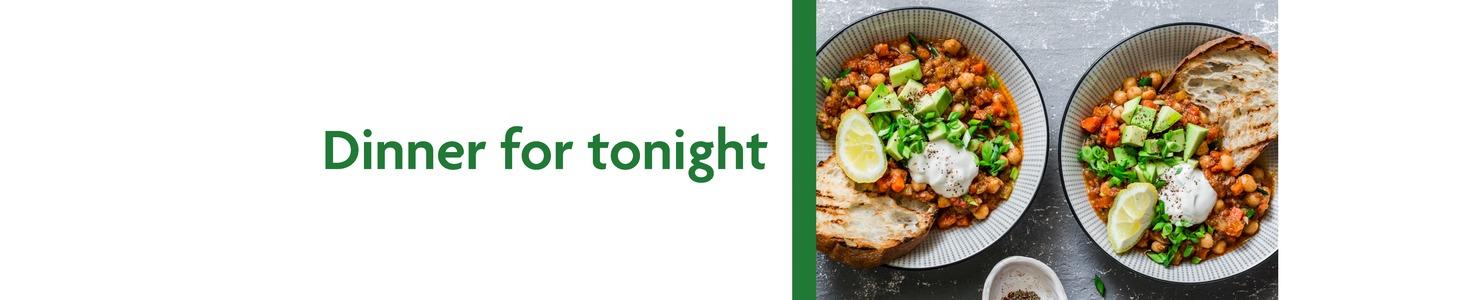 dinner for tonight