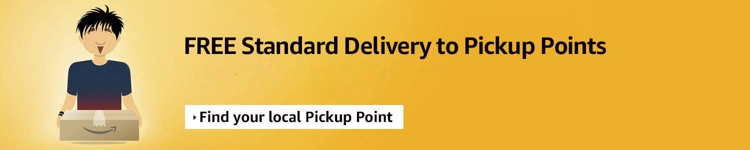Free Standard Delivery to Pickup Locations