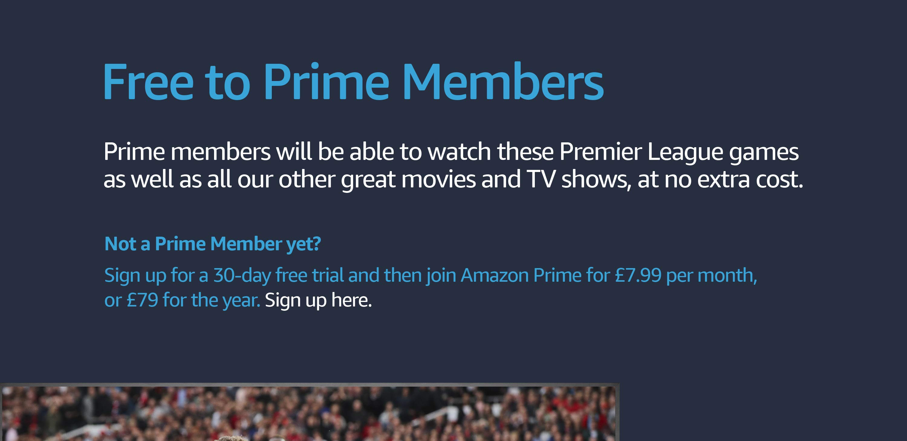 Premier League on Prime Video