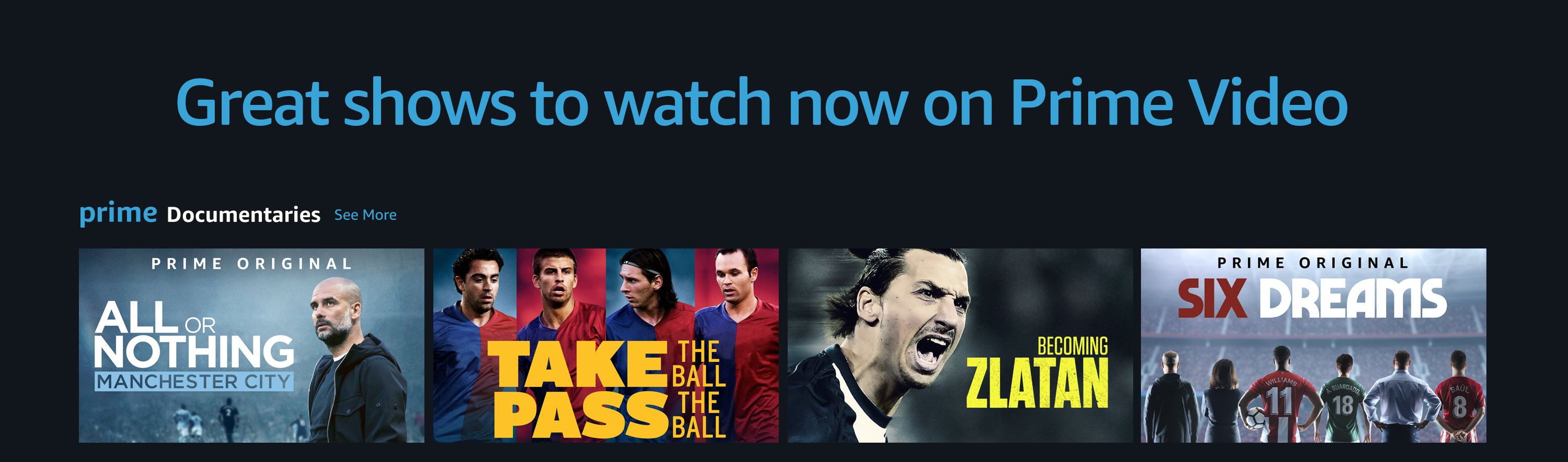 Great shows on Prime Video