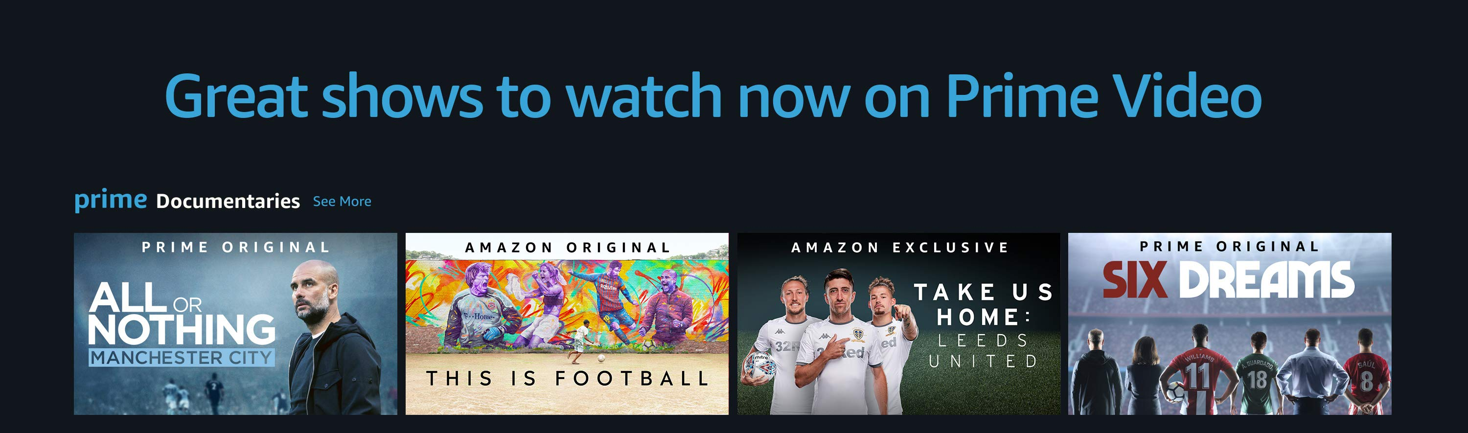 Watch shows on Prime Video