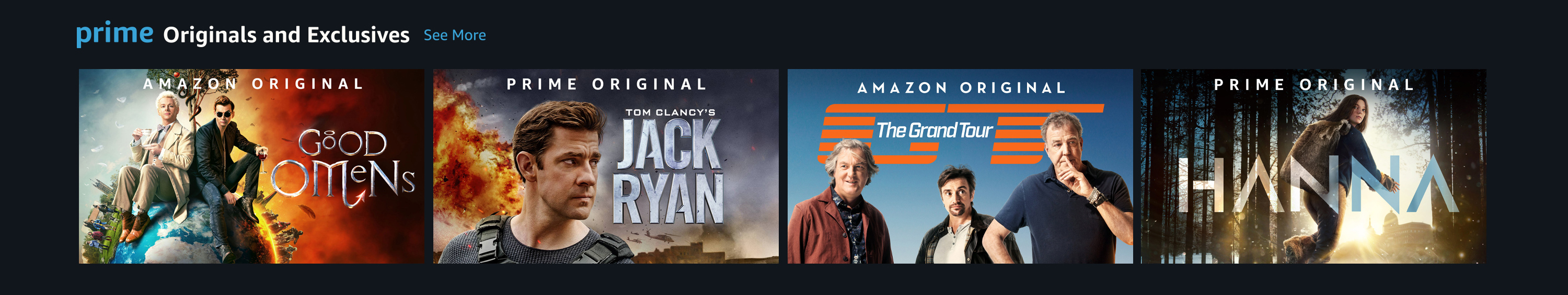 Watch great shows on Prime Video now