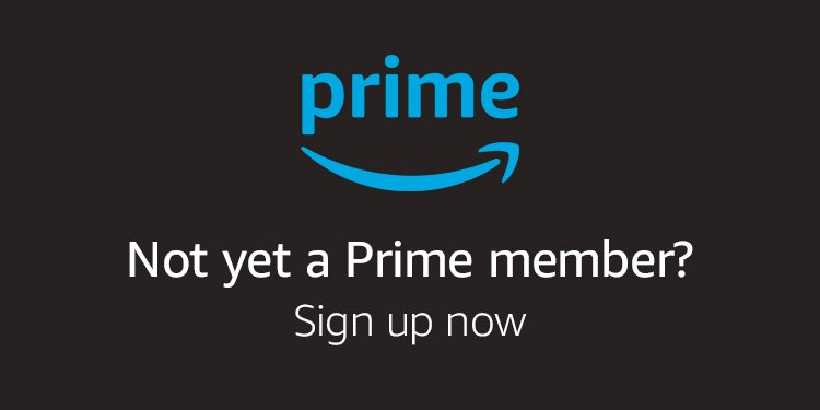 Sign up to Prime