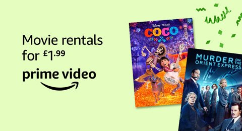 Rent the Latest Movies for £1.99