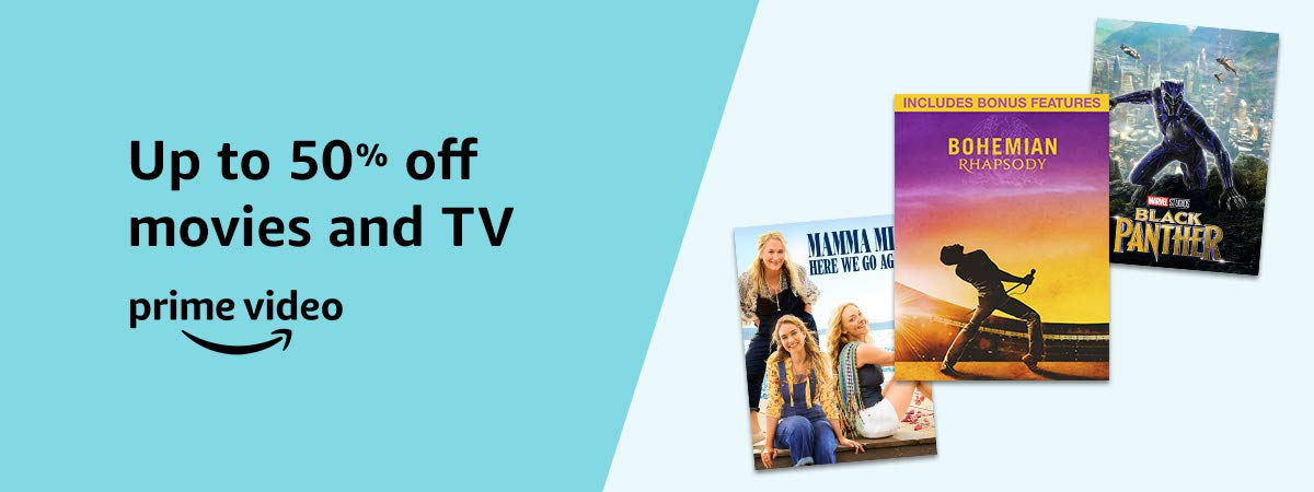 Up to 50% off movies and TV - Prime Video