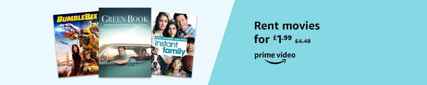 Rent movies for £1.99 (exclusive to Prime members only)