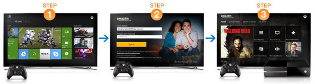Amazon instant video on your xbox one amazon video on xbox one sciox Choice Image
