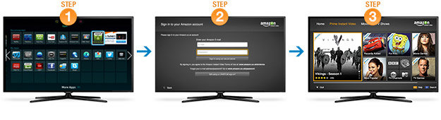 Amazon Instant Video on Your Samsung Device