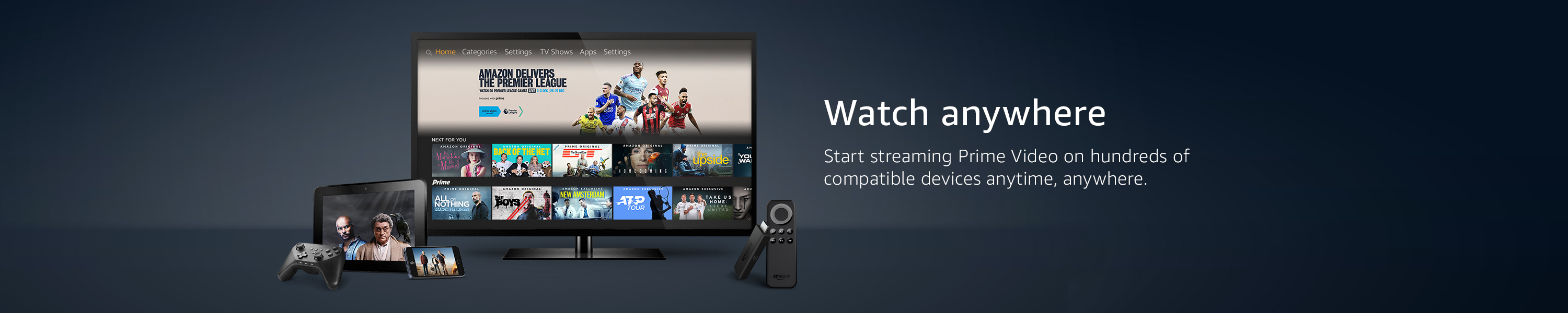 Watch Prime Video anywhere