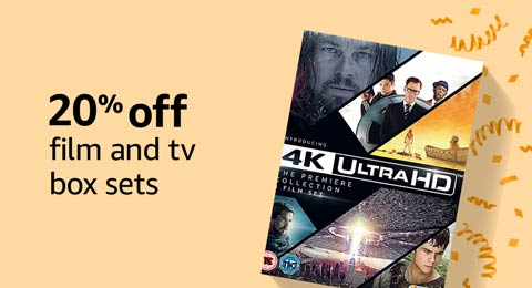 20% off DVD and blu-ray box sets
