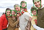Detect up to 35 faces in a single frame
