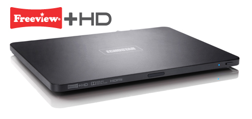 Ultra Slim box with Freeview+ HD logo