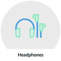 Headphones, Speakers & Music