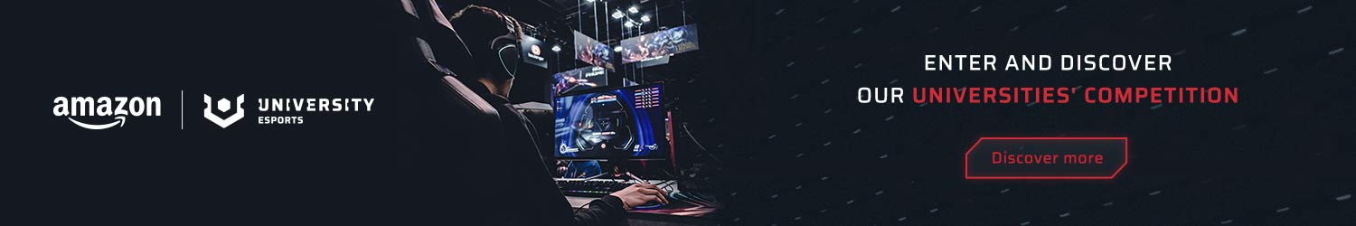 Enter and discover our Universities esports competition