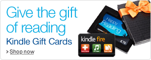Give an Amazon.co.uk Kindle Gift Card