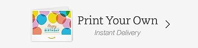 Print an Amazon Gift Card
