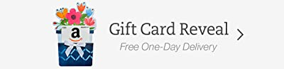 Amazon Gift Cards in a Gift Card Reveal