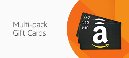 Amazon Gift Cards in multi-packs