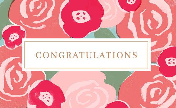 Congratulations (Floral)