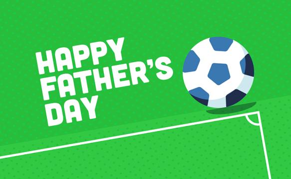 Happy Father's Day (Football) - Amazon.co.uk eGift Voucher