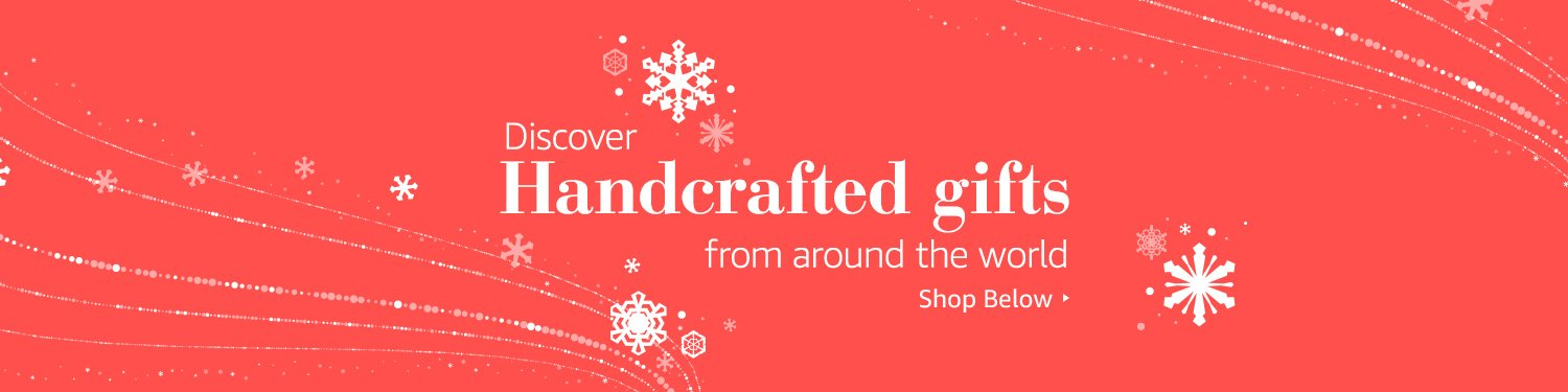 Discover Handcrafted gifts from around the world