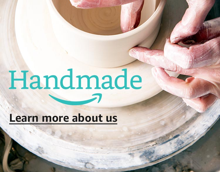 Learn more about Amazon Handmade, top three reasons to shop Handmade
