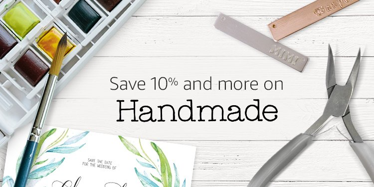 Save 10% and more on Handmade