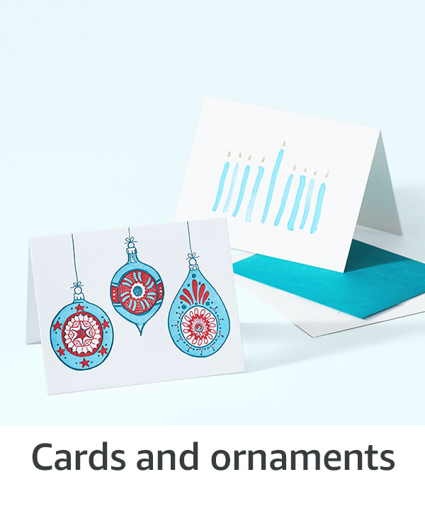 Cards and ornaments