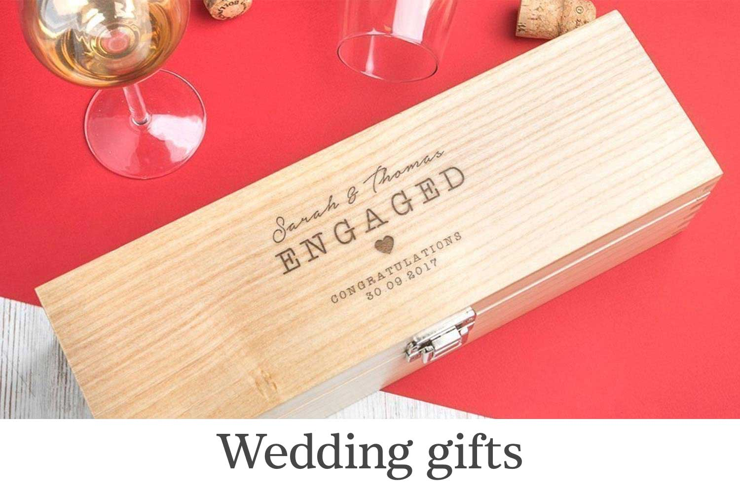 Handmade wedding gifts