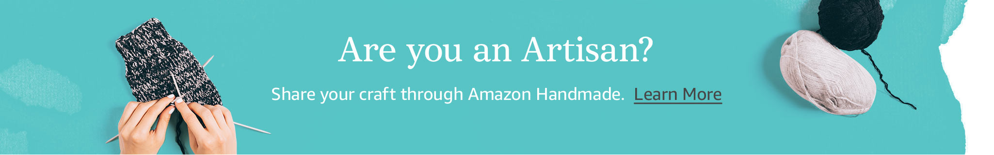 Are you an Artisan? Learn more about how to sell on Handmade