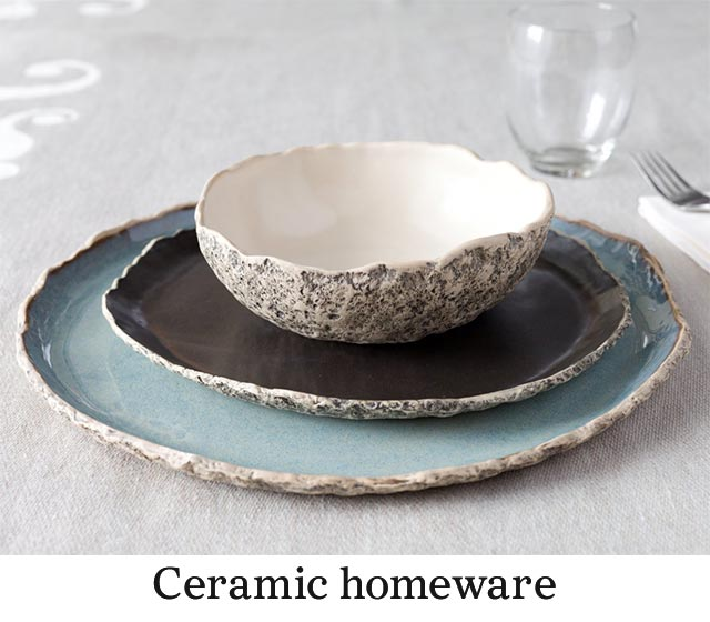 ceramic homeware