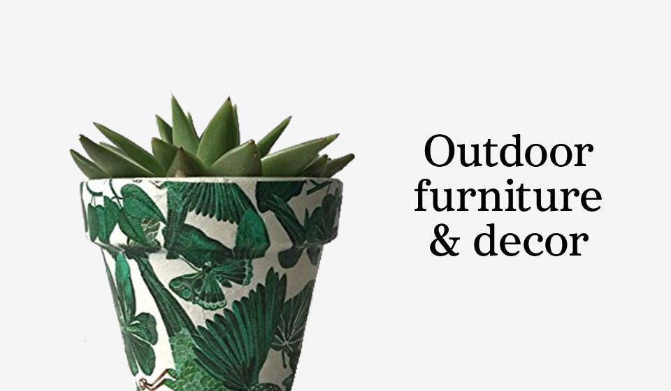 Outdoorfurniture & decor