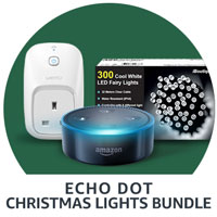 Echo Dot Christmas Lights Bundle