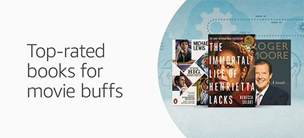 Top-rated books for movie buffs