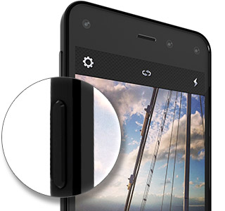 1b8e31ab51c6cc Dedicated camera button. No more fumbling to take a photo. With Fire phone's  ...