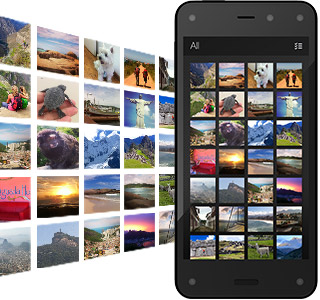 904b898f7a9e24 Get free, unlimited Cloud storage for all photos taken with Fire phone (in  full resolution). No more worrying about what to delete. See details