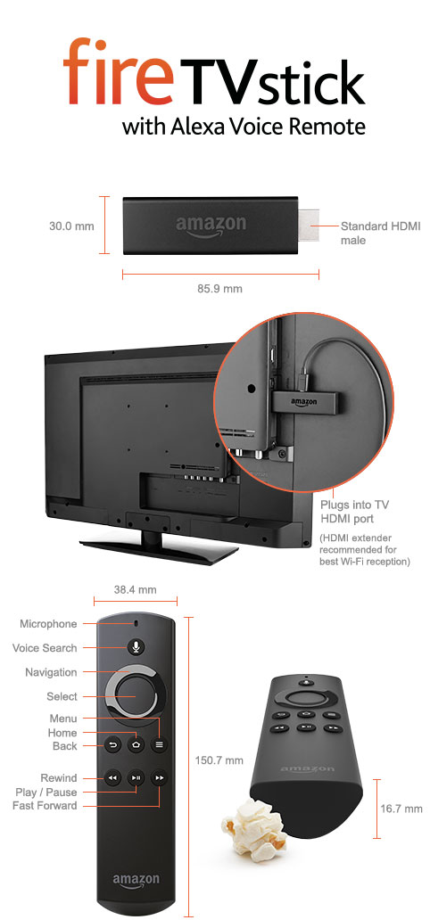Fire Tv Amazon Co Uk Amazon Fire Tv Stick With Alexa
