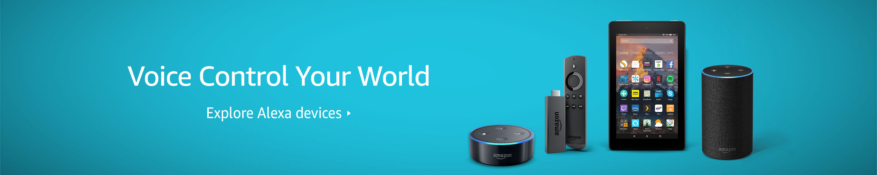Voice Control Your World