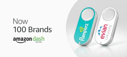 Amazon Dash Button - Now 100 brands